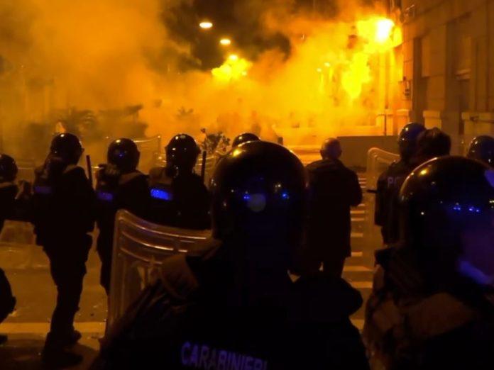 """Manifestazione a Napoli, Scialdone li.si.po.""""necessario legiferare inasprimento delle pene per chi aggredisce forze di Polizia"""""""