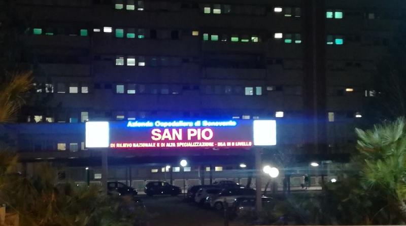 """Sono 39 i pazienti positivi al Covid ricoverati al """"San Pio"""""""