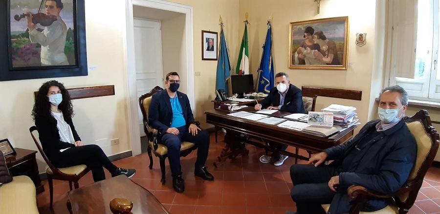 Mobilità.Il Presidente della Provincia riceve il neo sindaco di Castelfranco in Miscano