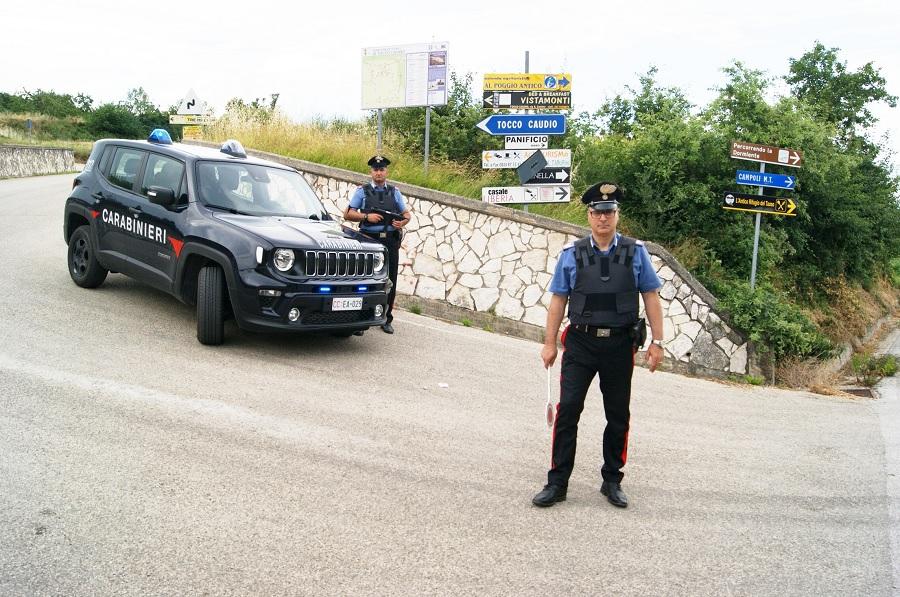 Tocco Caudio,porto illegale di armi e minaccia aggravata.Denunciate dai Carabinieri due persone