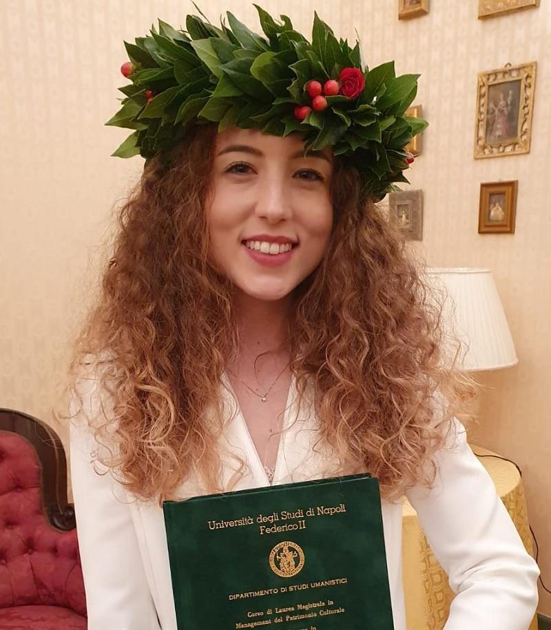 """Auguri alla neo dott.ssa Sofia Del Viscovo laureata in """"Management del Patrimonio Culturale"""""""