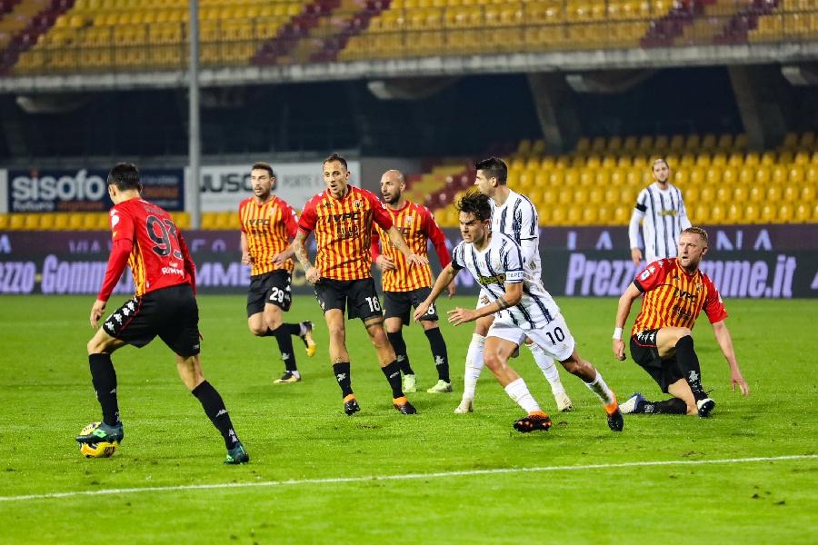 Tutti leoni! Il Benevento ferma la Juventus sull'1 a 1.