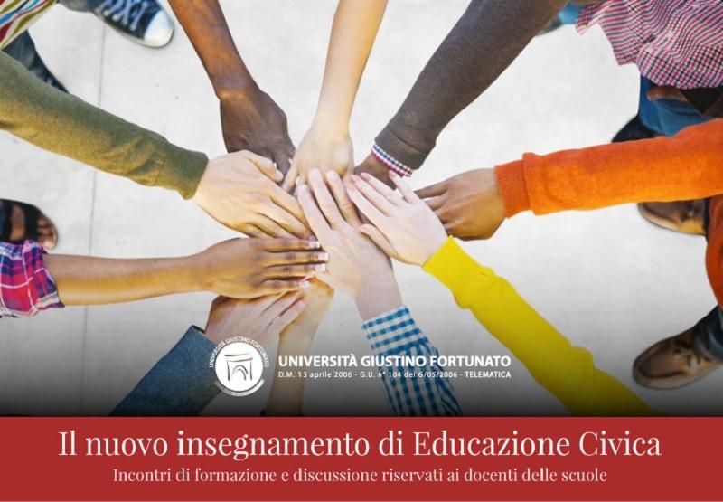 Unifortunato al via il forum di discussione online sull'Educazione Civica con i docenti delle scuole