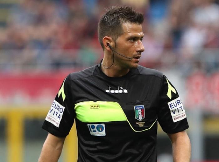Benevento- Juventus, l'arbitro sarà Pasqua di Tivoli. Arbitrò il match della stagione 2017-2018