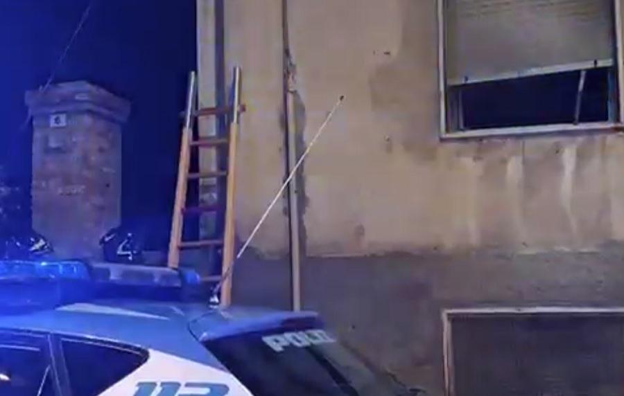 Rione ferrovia,fiamme in un appartamento ferito un 24enne