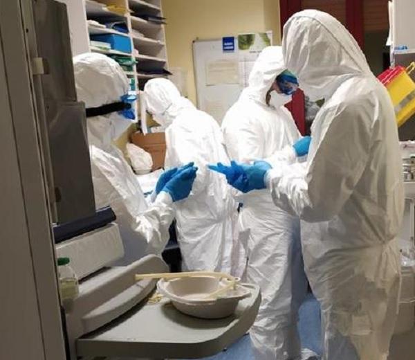 """Coronavirus,al """"San Pio"""" processati 535 tamponi. Sono 31 i nuovi casi di positività"""