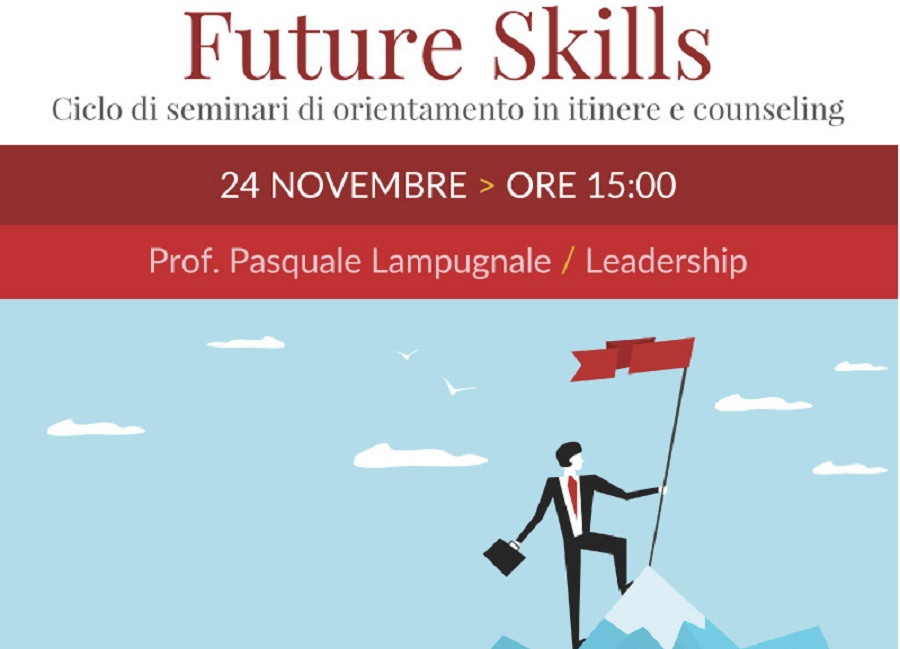 "All'Unifortunato Seminari tematici online di orientamento ""Future Skills Leadership"""