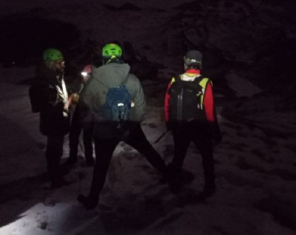 Lieto fine per un'escursionista sannita salvato sul Monte Mileto.Era con un'amico di San Severo