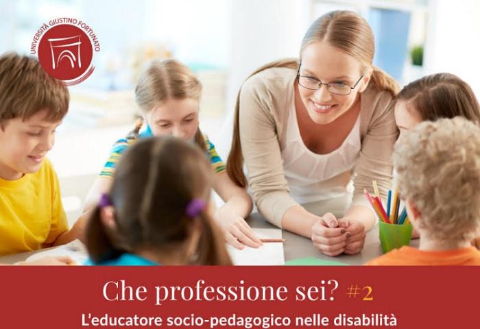"""UniFortunato secondo ciclo seminari """"L'educatore Socio – Pedagogico nelle disabilità"""""""