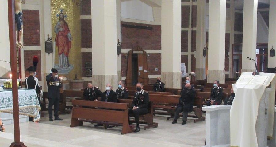 Virgo Fidelis. Celebrata stamattina la ricorrenza della Patrona dell'Arma dei Carabinieri