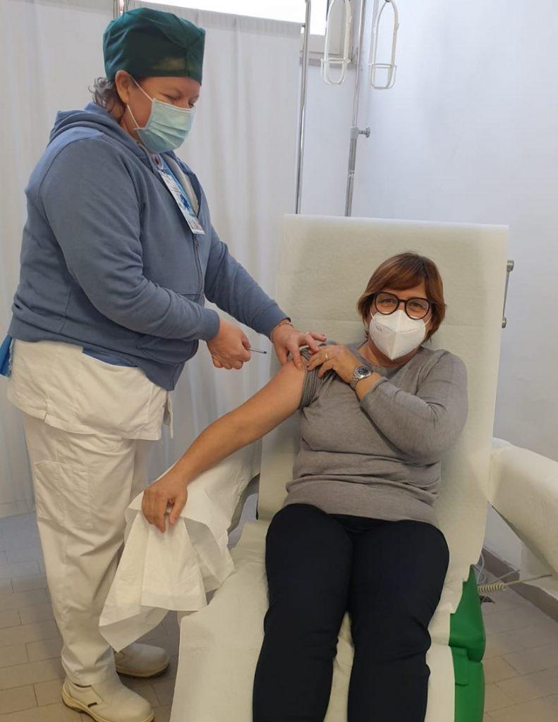 Vaccino Anti Covid.Una Caposala la prima cittadina di Limatola vaccinata