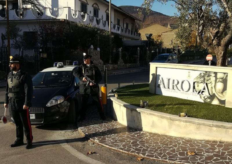 Airola. Carabinieri arrestano pregiudicati napoletani per furto di gasolio.
