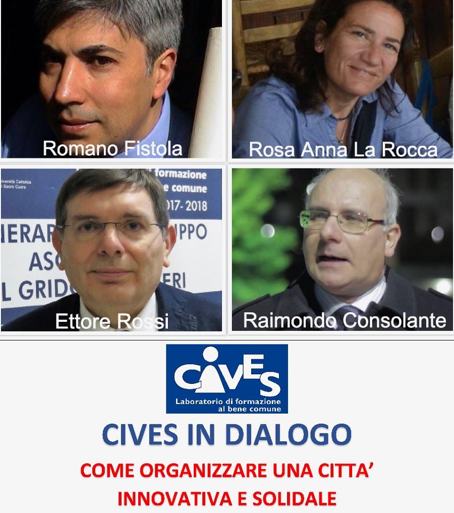Cives in dialogo: Come organizzare una città innovativa e solidale