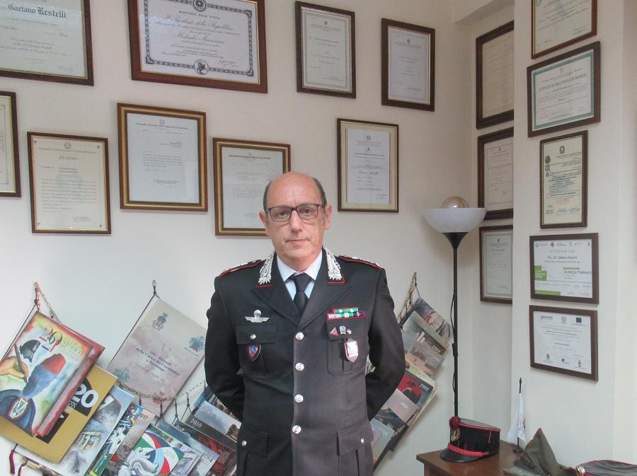 Benevento,il vicecomandante dei Carabinieri Gaetano Restelli promosso Colonnello