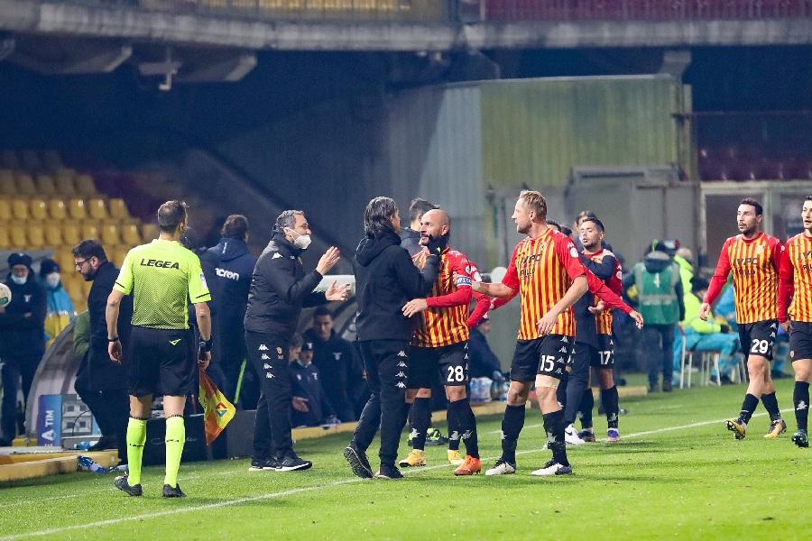 Il Benevento ferma anche la Lazio, la mentalità è quella giusta. Benevento 1 Lazio 1