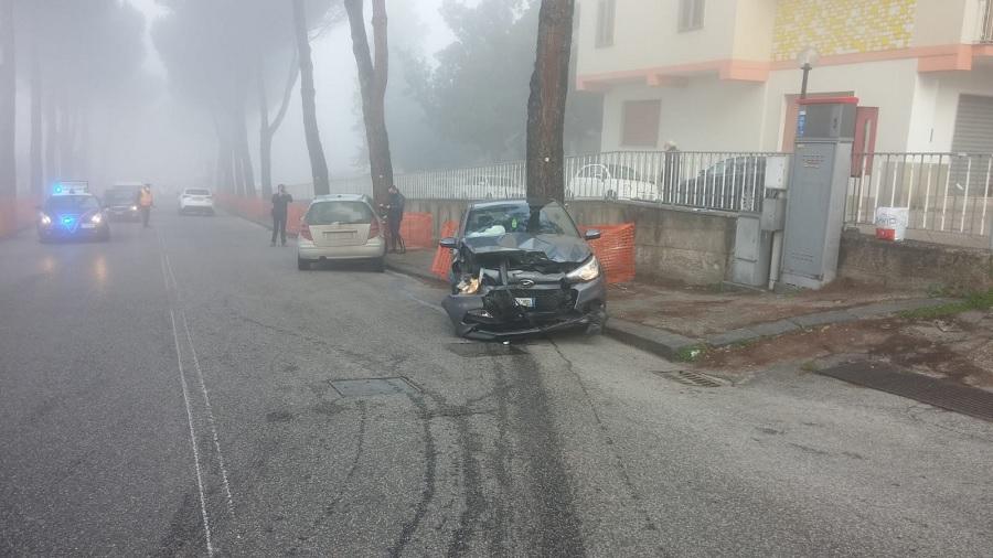 Benevento. Incidente in Via Pacevecchia, ritirata la patente ad un 46enne