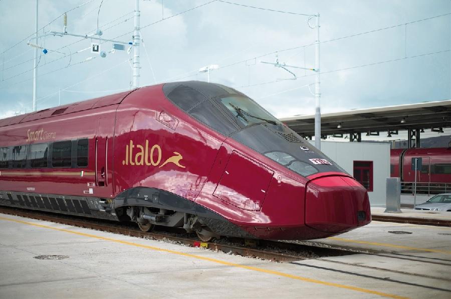 Dal 27 maggio Italo effettuerà 4 fermate quotidiane a Benevento