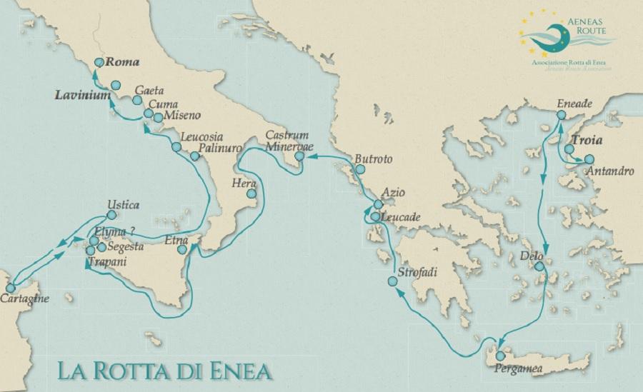 Benevento protagonista della Rotta di Enea.In un seminario online le potenzialità turistiche di un nuovo percorsoculturale naturalistico