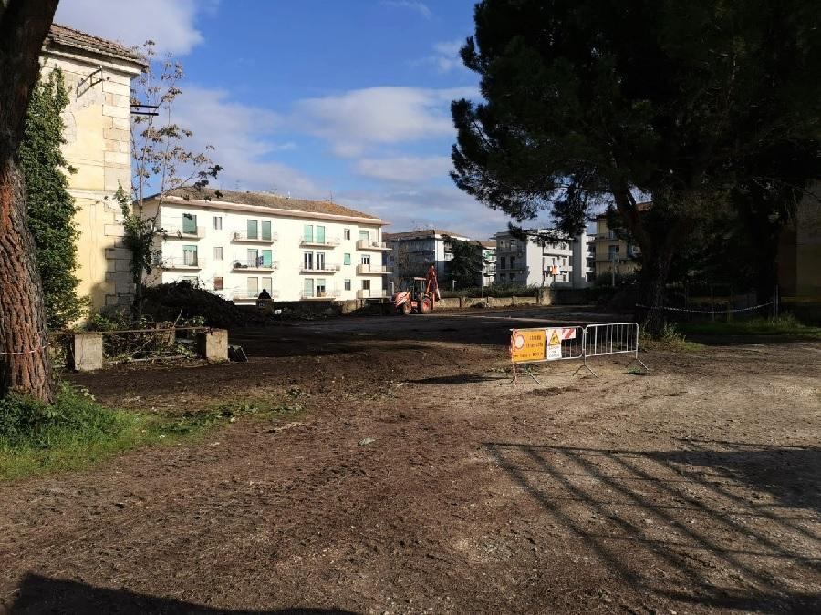 Provincia. Avviati i lavori del parco dell'ex Caserma Guidoni