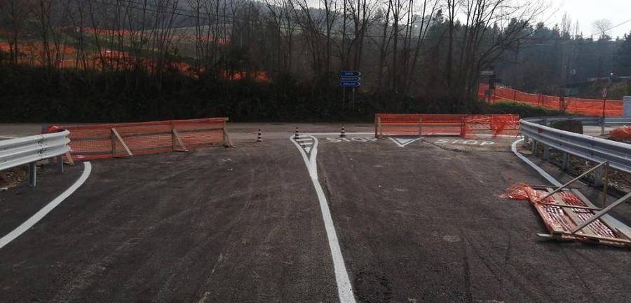 Ultimati i lavori di ricostruzione sul S.P. 27 del ponte Ufita