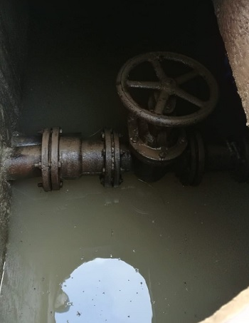Vitulano:quest'oggi interruzione idrica per un guasto improvviso