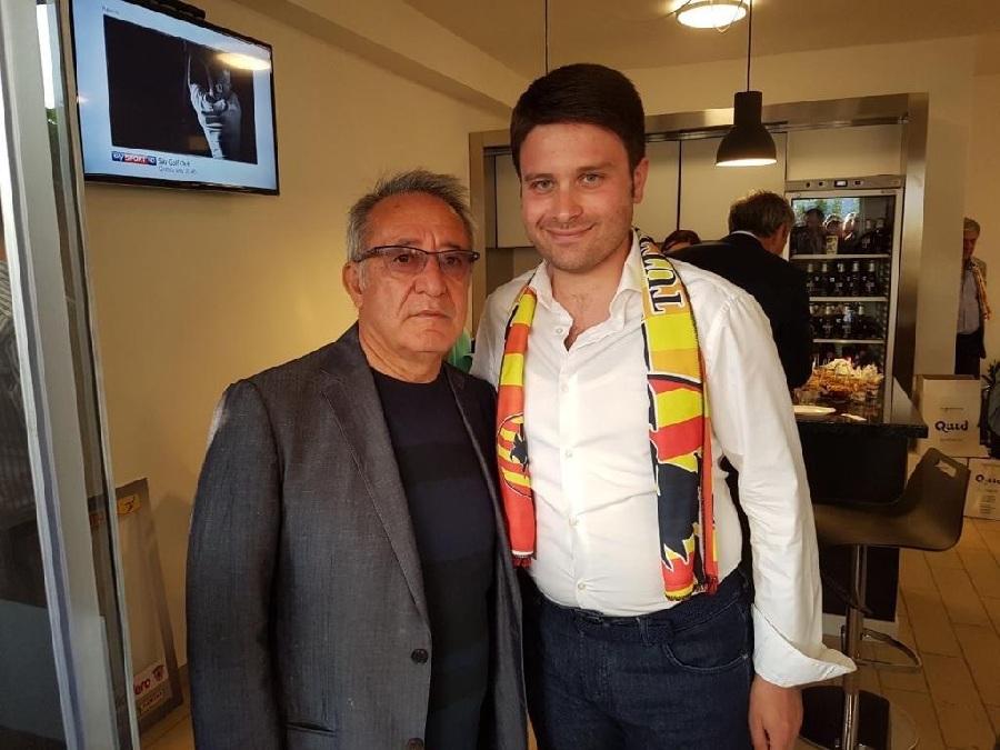 Rubano si complimenta con Vigorito per l'elezione a Presidente di Confindustria Benevento