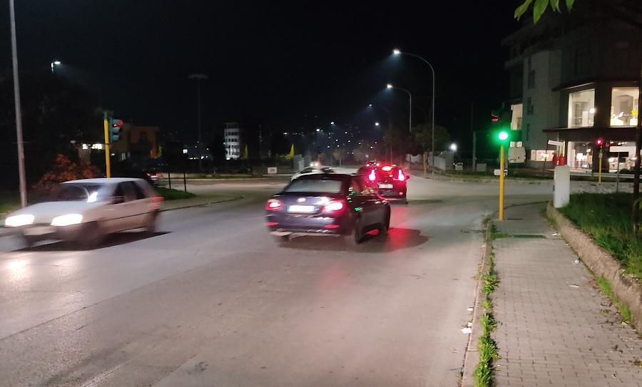 Il Semaforo a pochi metri dal McDonald's è stato riattivato