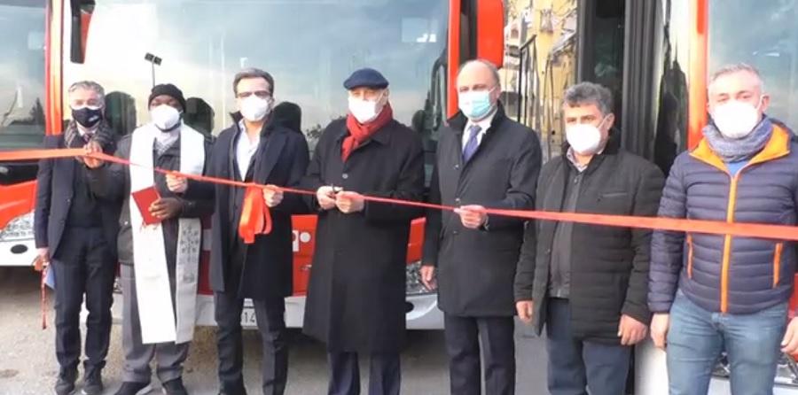 Mobilità,alla Trotta arrivano altri quattro nuovi Bus
