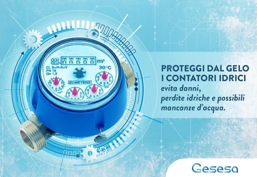 Calo delle temperature, i consigli di GESESA per proteggere i contatori dal gelo.