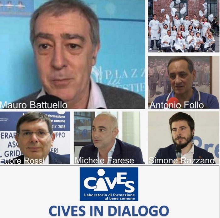 CIVES in dialogo con Mauro Battuello di Piazza Mestieri di Torino