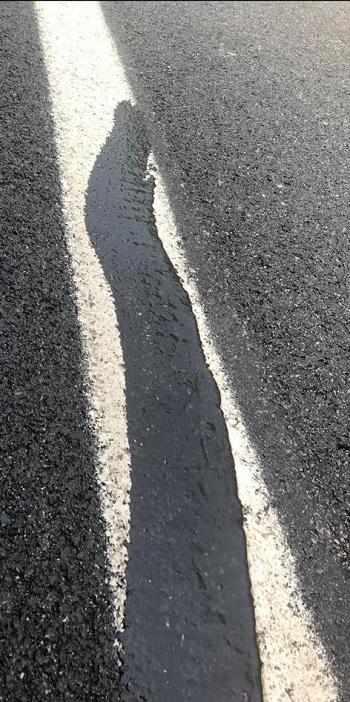 """Morcone,Costantino Fortunato e Giuseppe Solla: """"La scandalosa condizione delle strade appena rifatte per milioni di euro"""""""
