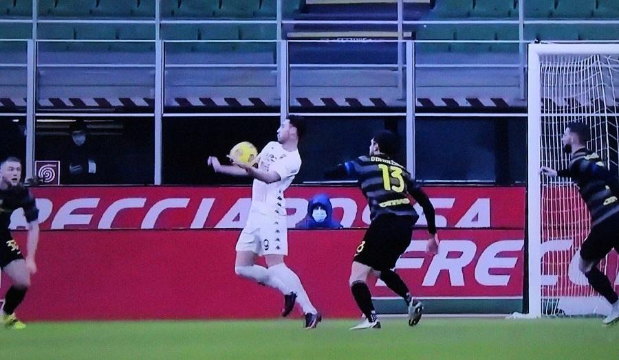 Al Meazza Inter 4 Benevento 0. Giallorossi non pervenuti!