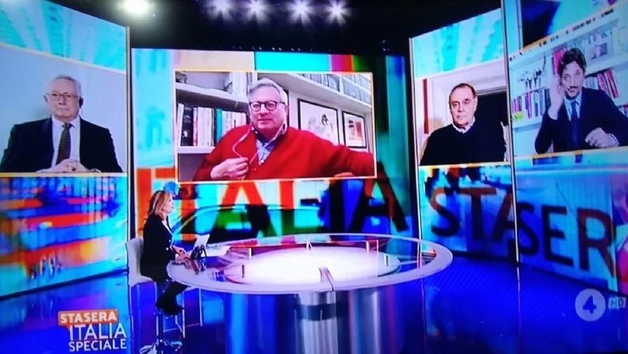 Crisi di Governo. Mastella dice la sua a Stasera Italia Speciale in onda su rete 4, ma glissa sul Governo Conte-Mastella.