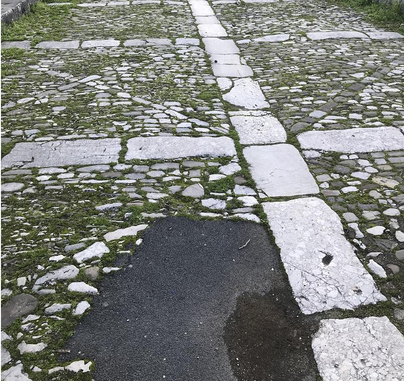 """Picone: """"Il ponte Leproso deturpato da diversi rappezzi di bitume"""""""
