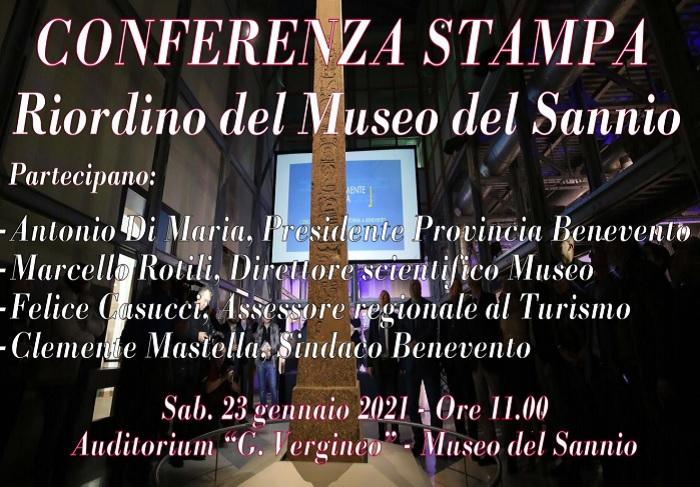 """""""Riordino del Museo del Sannio"""". Il prof.Rotili presenta il progetto"""