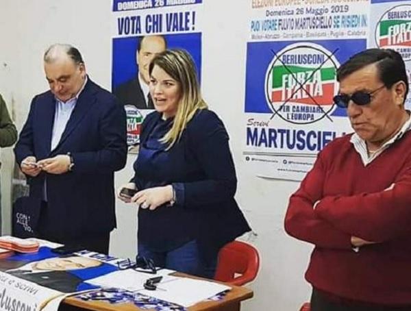 """Forza Italia Mazzariello """"Grande soddisfazione per nomina Tullia Savignano"""""""