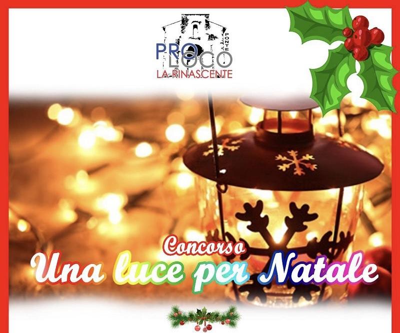 """Ponte. Evento """"Una Luce per Natale"""" organizzato dalla Pro Loco La Rinascente: ecco i vincitori"""