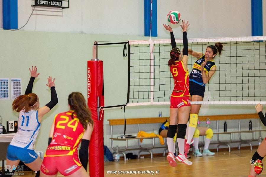 Altro turno infrasettimanale l'Accademia Volley. Si recupera la gara con l'Oplonti