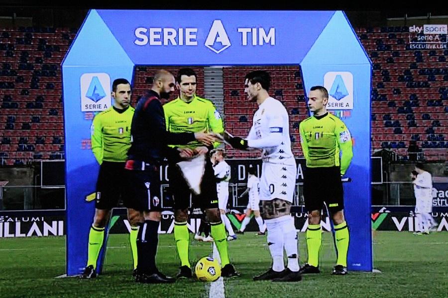 Un Benevento coriaceo esce indenne dal Dall'Ara. Bologna 1 Benevento 1