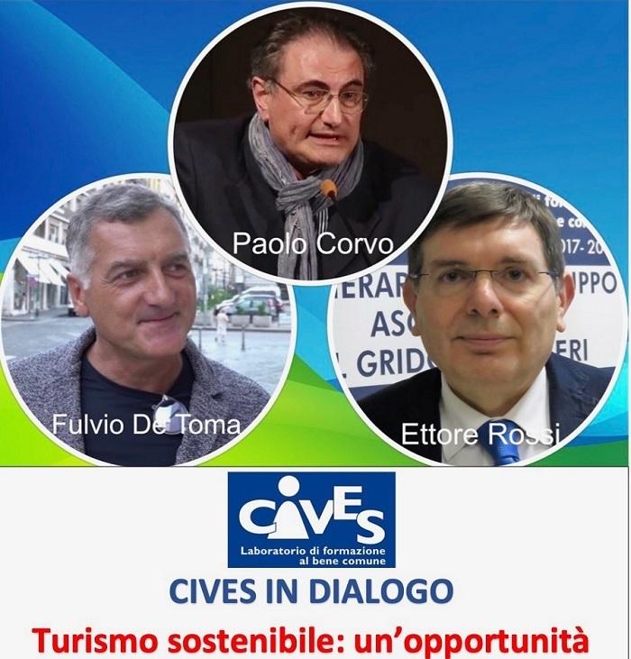 Cives in dialogo con Paolo Corvo sul turismo sostenibile quale opportunità per Benevento