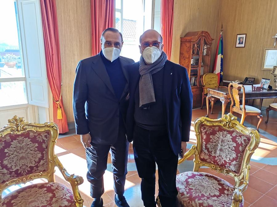 Napoli-Bari, il sindaco Mastella ha incontrato il delegato regionale Fernando Errico