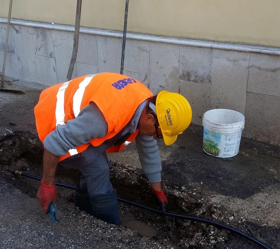 Guasto idrico Santa Maria degli Angeli,Gesesa: nelle prossime ore possibili ulteriori interruzioni idriche