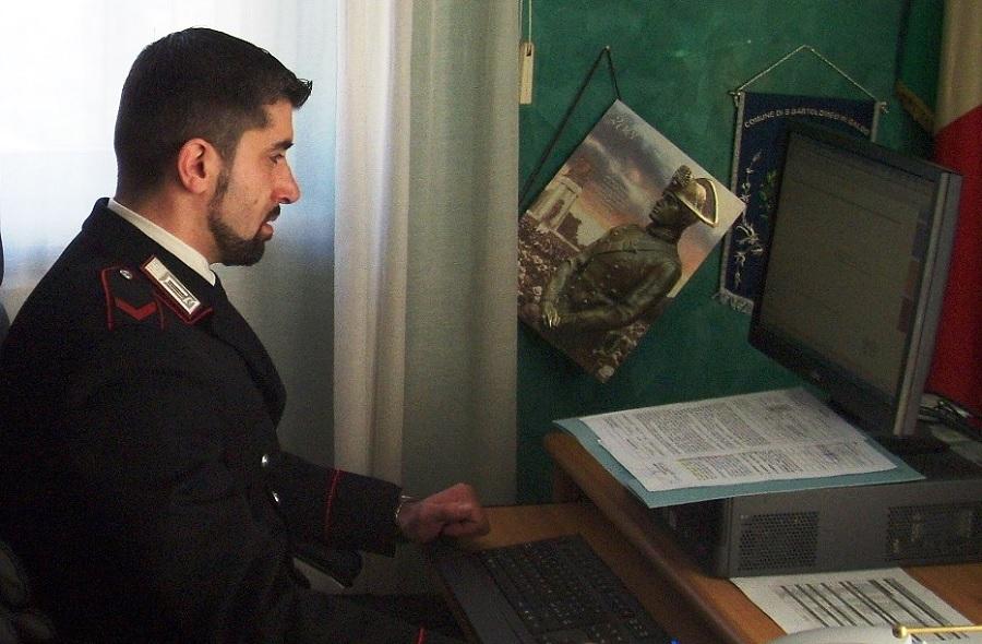 Colle Sannita: i carabinieri identificano e denunciano in stato di libertà un 38enne per truffa Telematica