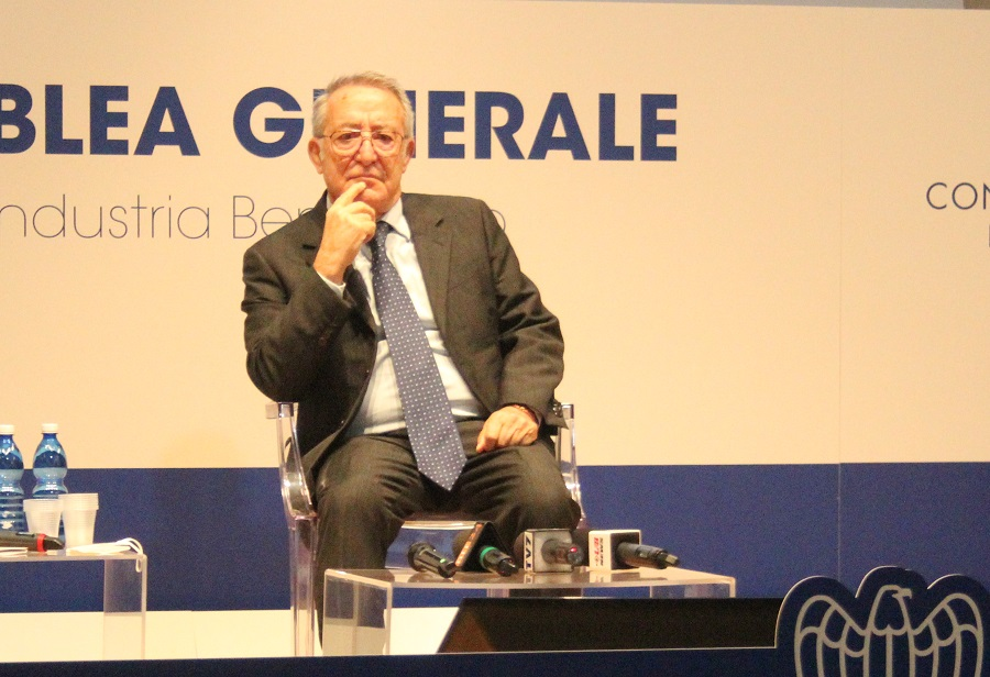 Vigorito, presidente di Confindustria, presenta alla stampa le linee programmatiche del suo programma