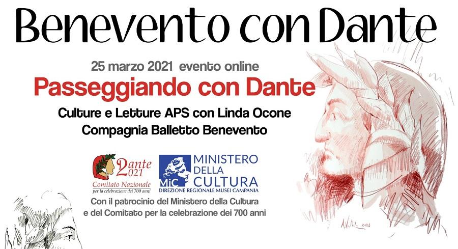 Benevento con Dante celebrazioni per i 700 anni dell'anniversario della morte del Sommo Poeta.Il programma