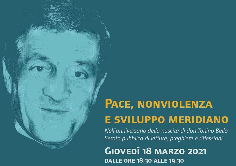 """Casa per la Pace """"don Tonino Bello""""nell'anniversario Serata online di letture, preghiere e riflessioni"""
