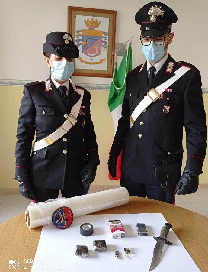Faicchio. Olli, il cane antidroga dei Carabinieri, fa arrestare un 65enne