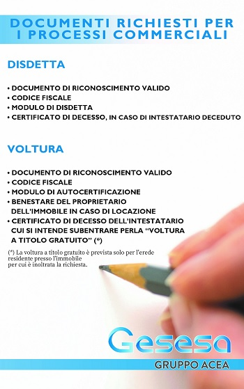 Benevento,Gesesa per te:più snella l'interazione con i clienti