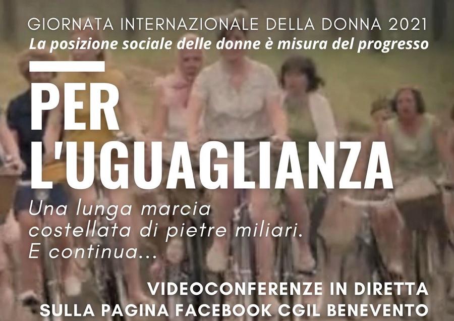 Giornata internazionale della donna.Luciano Valle segretario CGIL sulla iniziativa del 24 marzo 2021