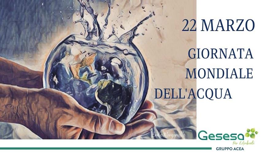 """GESESA: anche quest'anno, a """"Distanza"""" celebra la """"Giornata Mondiale dell'Acqua"""" con le scuole."""